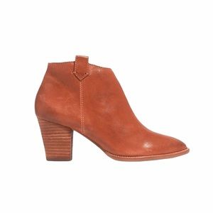 Madewell Billie Boots English Saddle Leather 8